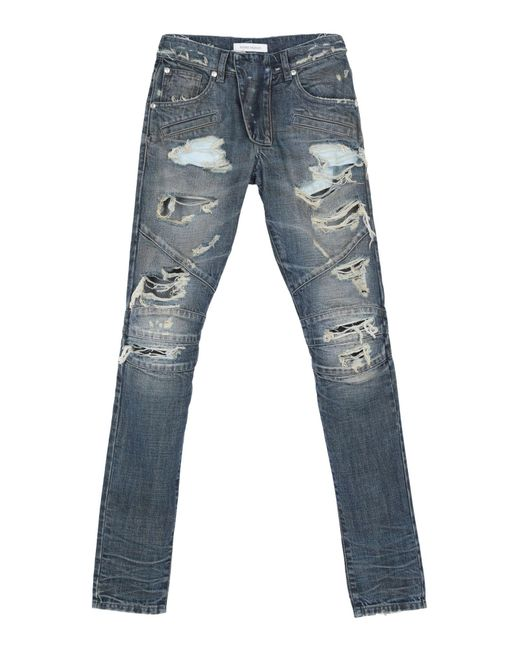 Pantaloni jeans di Balmain in Blue da Uomo