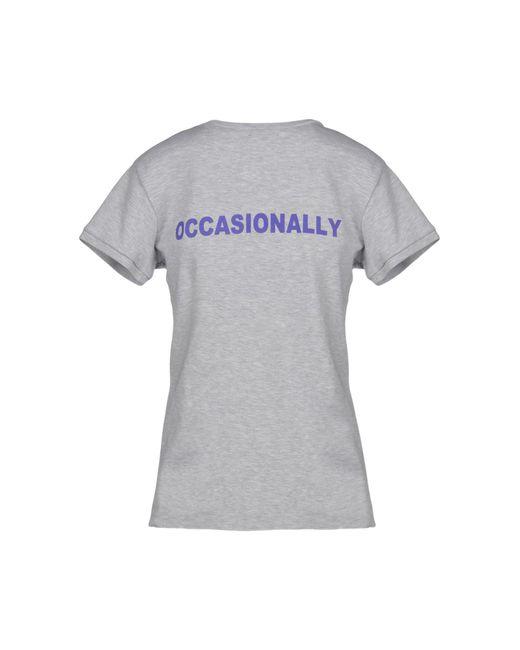 T-shirt di Natasha Zinko in Gray