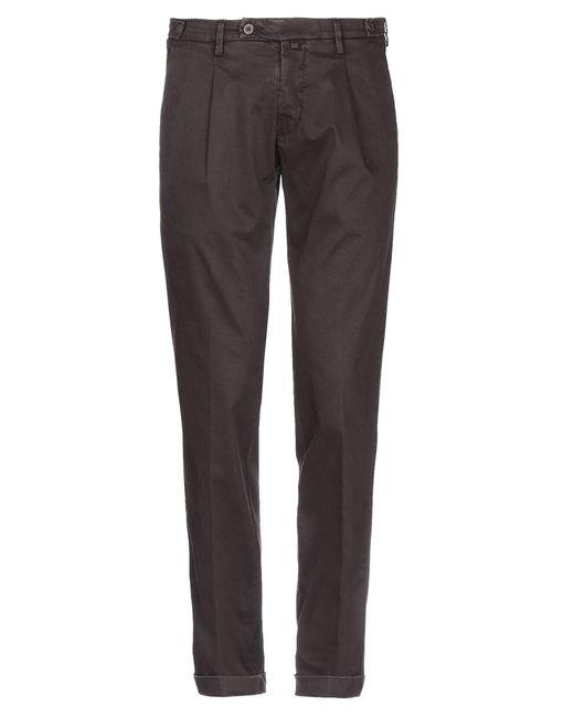 Michael Coal Brown Casual Pants for men