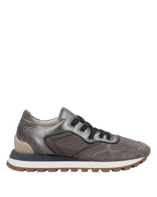 Sneakers & Tennis basses Brunello Cucinelli en coloris Gray