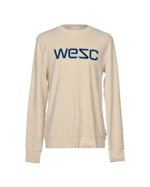 Wesc - White Sweatshirt for Men - Lyst