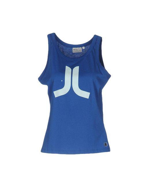 Wesc - Blue Vest - Lyst