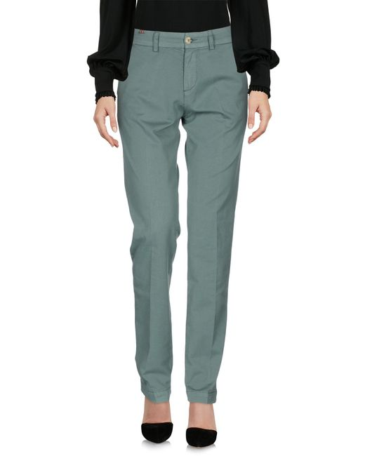 Notify - Green Casual Pants - Lyst