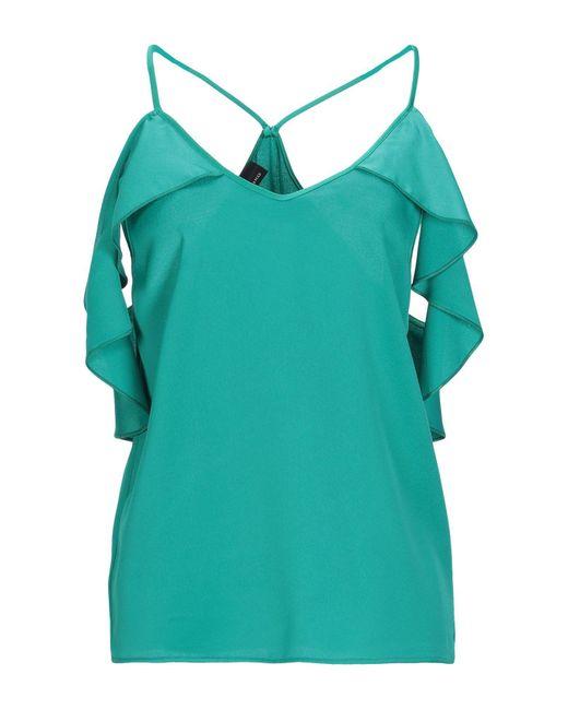 Blusa di Pinko in Green