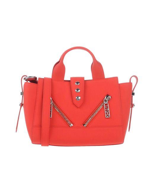 Mini Kalifornia bag Gommato leather KENZO en coloris Red