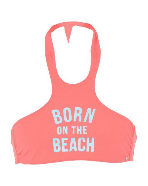 Banana Moon - Pink Bikini Top - Lyst