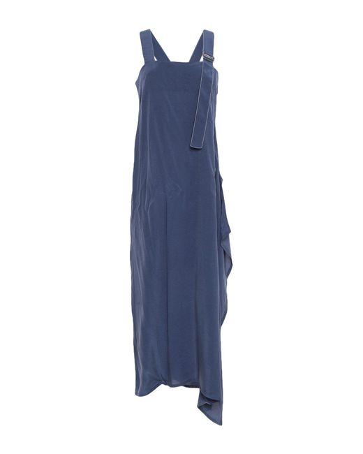 Crea Concept - Blue 3/4 Length Dress - Lyst