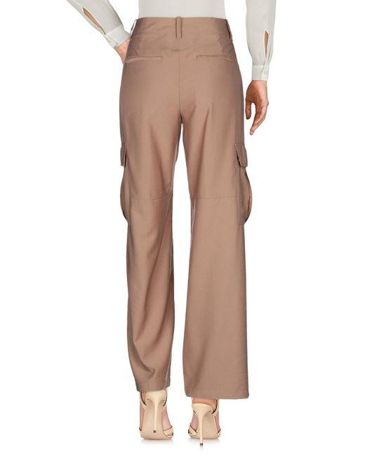 Vince Pantalon femme de coloris marron