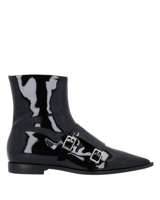 MSGM Black Ankle Boots