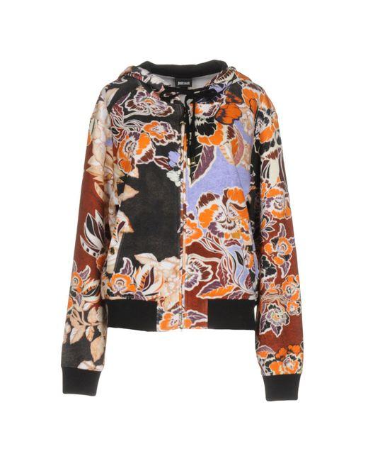 Just Cavalli - Orange Sweatshirts - Lyst