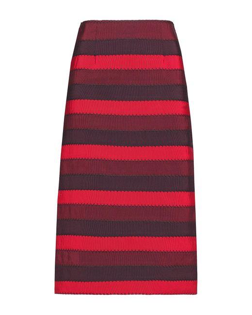 Mary Katrantzou Red 3/4 Length Skirt
