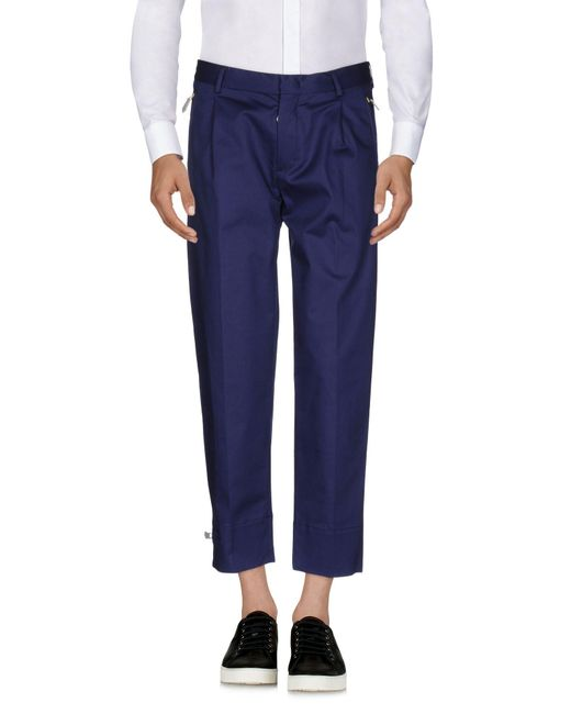 regular trousers - Blue Paolo Pecora UuFgAuLq