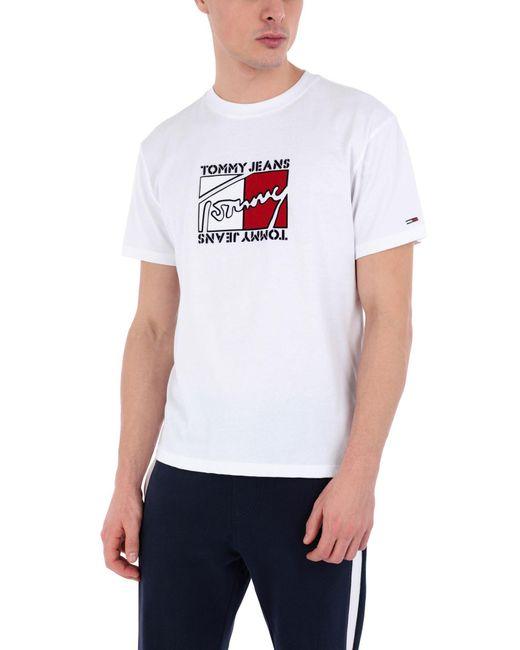 T-shirt Tommy Hilfiger pour homme en coloris White