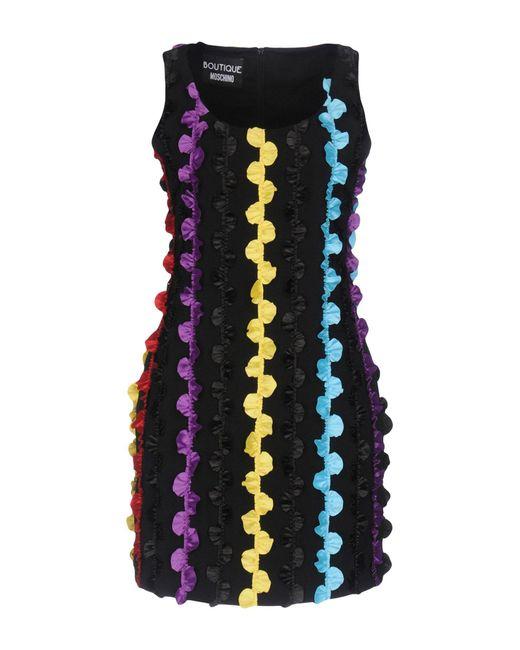 Boutique Moschino Black Short Dress