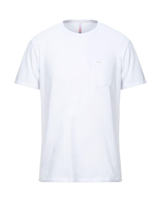 Sun 68 T-shirts in White für Herren