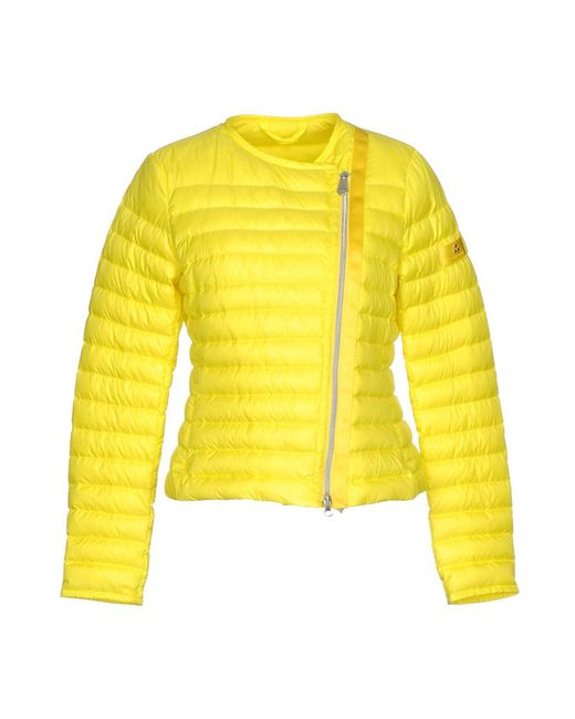 Peuterey - Yellow Down Jacket - Lyst