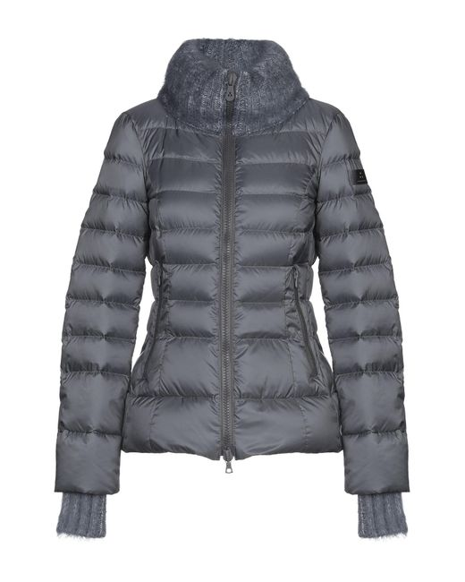 Peuterey Gray Down Jacket