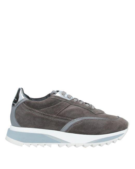 Santoni Gray Low-tops & Sneakers
