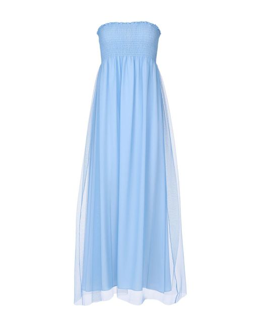 Pinko Blue Long Dress