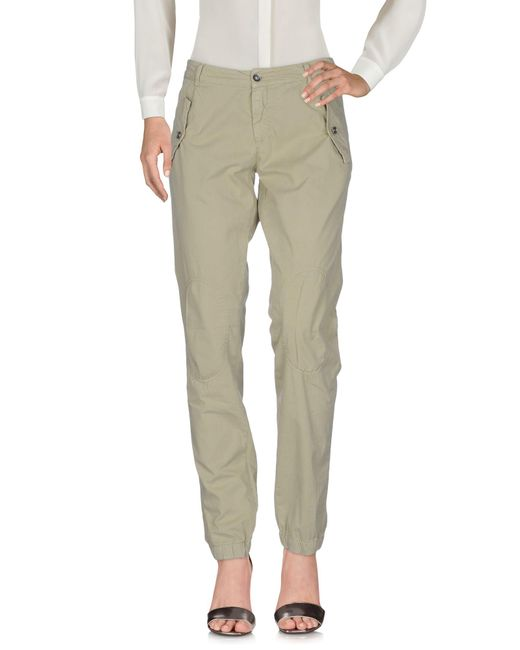 40weft - Green Casual Trouser - Lyst