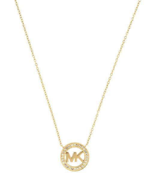 Michael Kors - Metallic Necklaces - Lyst