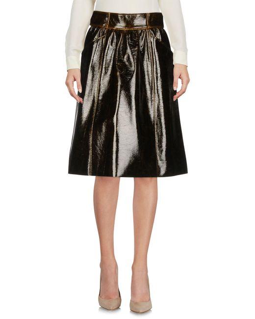 Dorothee Schumacher - Brown Knee Length Skirt - Lyst