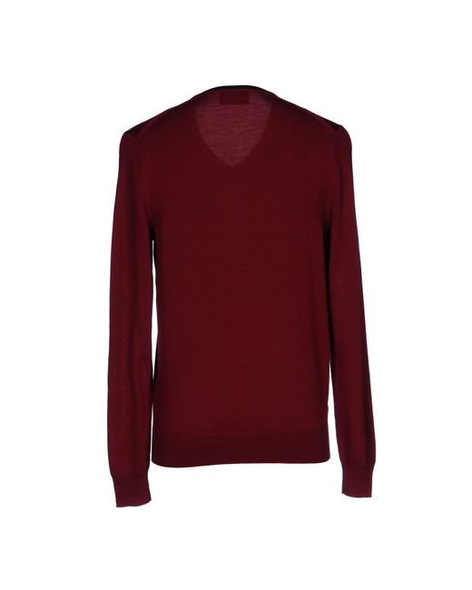 Fred Perry Red Sweater for men