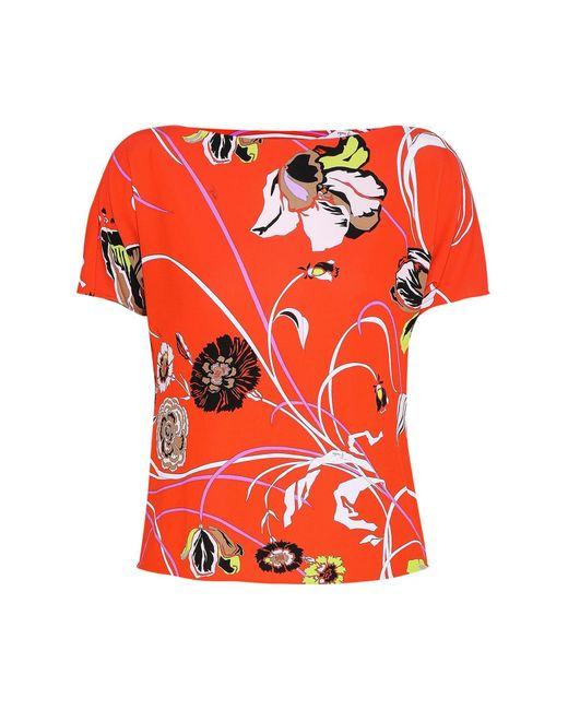 Emilio Pucci Orange T-shirt
