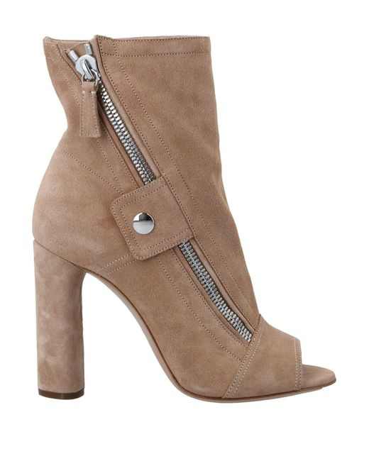 Casadei Brown Ankle Boots