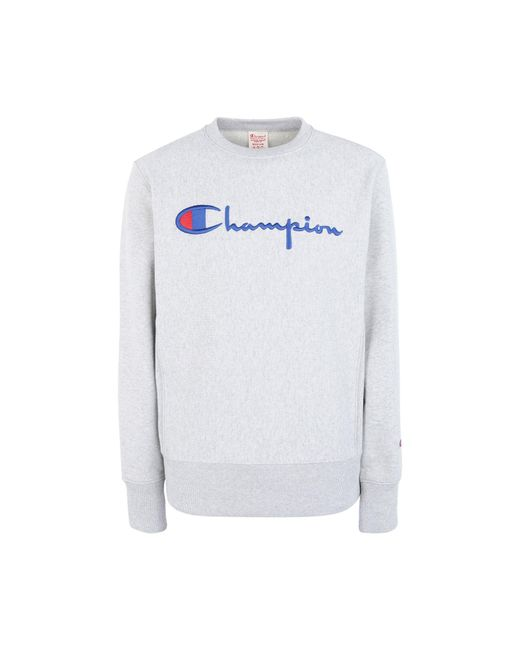 Champion Gray Sweatshirt for men