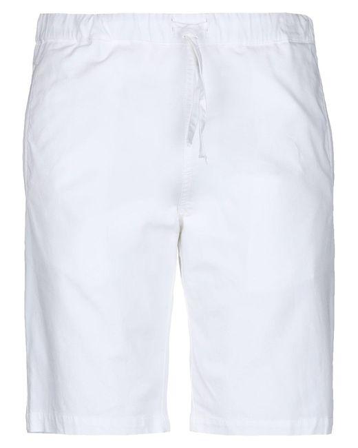 Paolo Pecora Bermudashorts in White für Herren