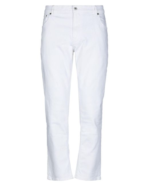 Pantaloni jeans di Solid in White da Uomo