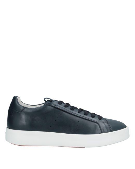 Santoni Blue Low-tops & Sneakers for men