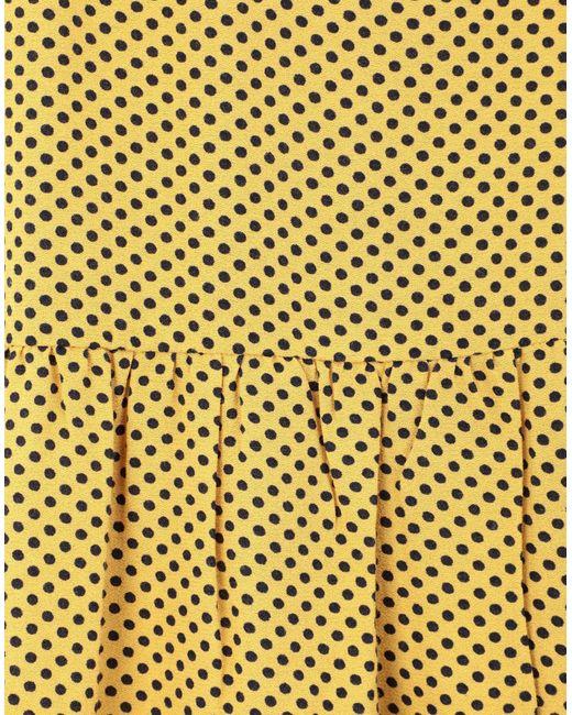Gonna longuette di Leon & Harper in Yellow
