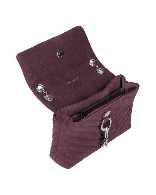 Borsa a spalla di Rebecca Minkoff in Purple