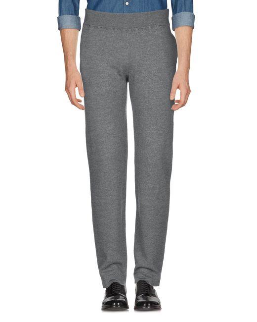 Roberto Collina Pantalon homme de coloris gris 0DXSM