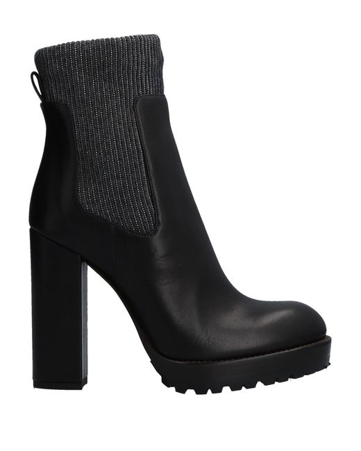 Brunello Cucinelli Black Ankle Boots