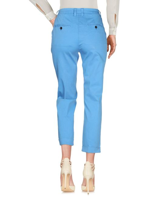 Department 5 Pantalon femme de coloris bleu yejY7