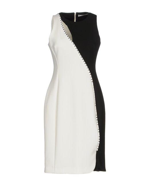 Versace Black Knee-length Dress