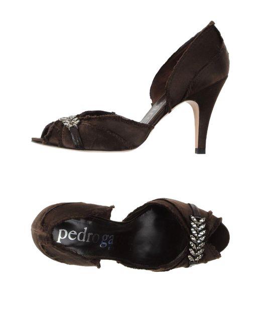 Zapatos de salón Pedro Garcia de color Black