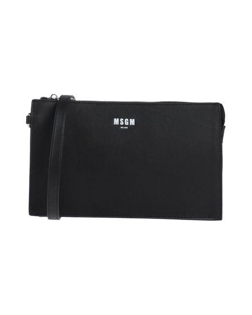MSGM Black Handtaschen