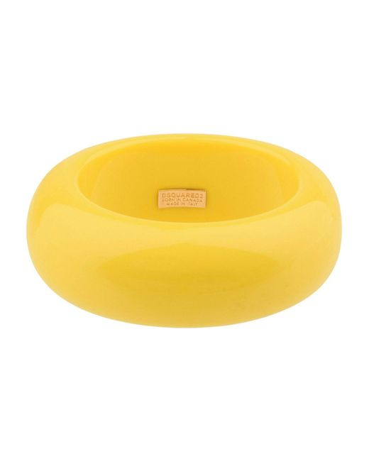 DSquared² - Yellow Bracelets - Lyst
