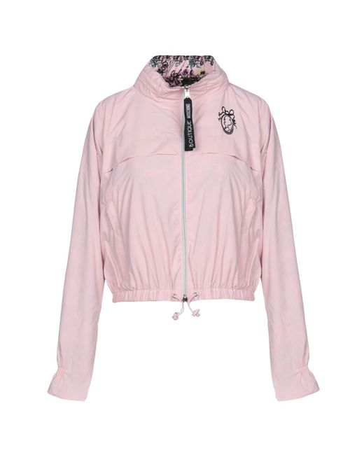 Boutique Moschino Pink Jacke