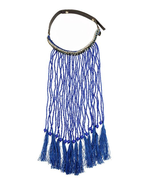 P.A.R.O.S.H. - Blue Necklace - Lyst