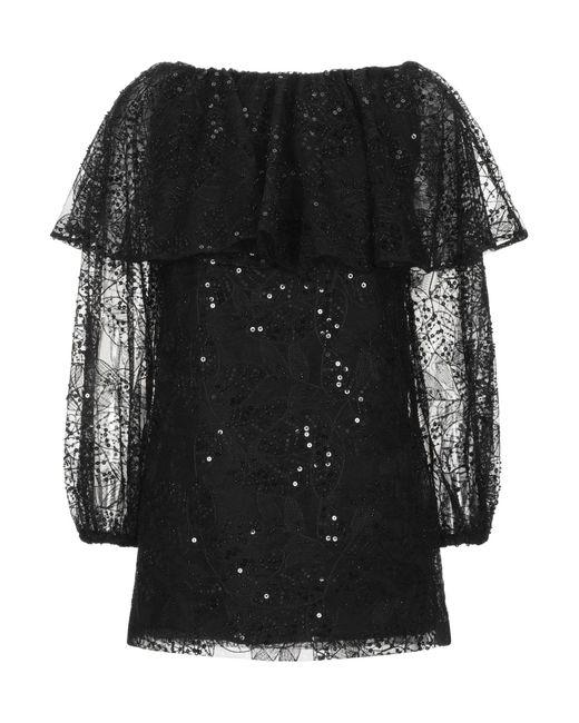 ROTATE BIRGER CHRISTENSEN Blusa da donna di colore nero