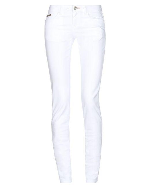 Pantalones Ean 13 de color White