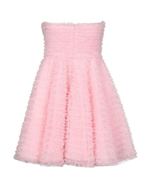 Robe courte DSquared² en coloris Pink