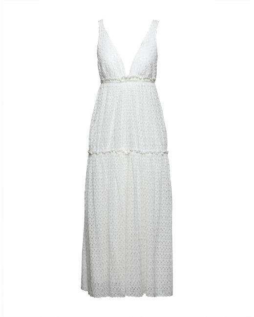 Missoni White 3/4 Length Dress