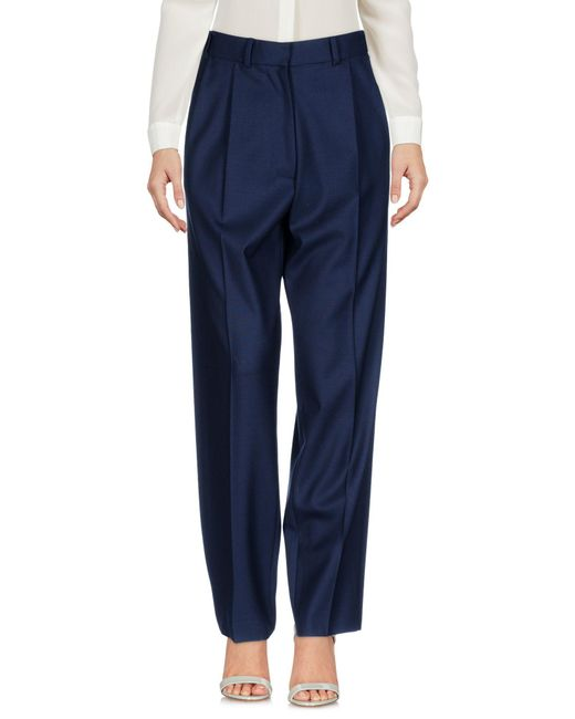 PS by Paul Smith - Blue Casual Pants - Lyst