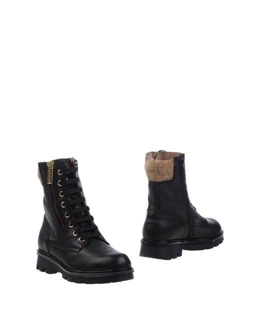 Alviero Martini 1A Classe - Black Ankle Boots - Lyst